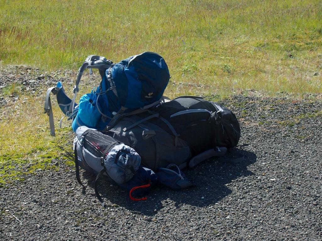 sac à dos islande - les gourmondises