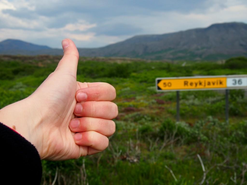 faire du stop islande - les gourmondises