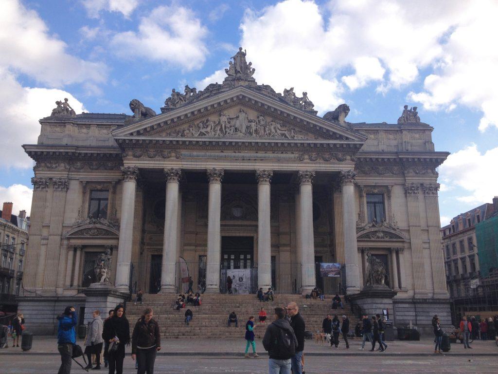 Bruxelles Bourse Les Gourmondises