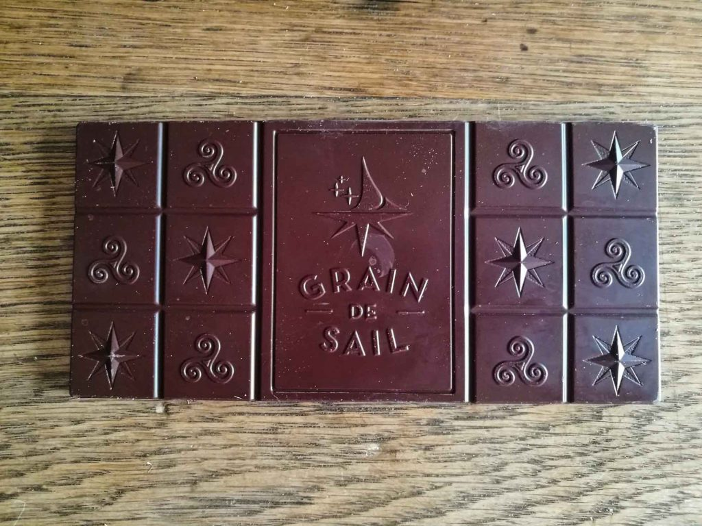 chocolat grain de sail - tablette - gourmondises