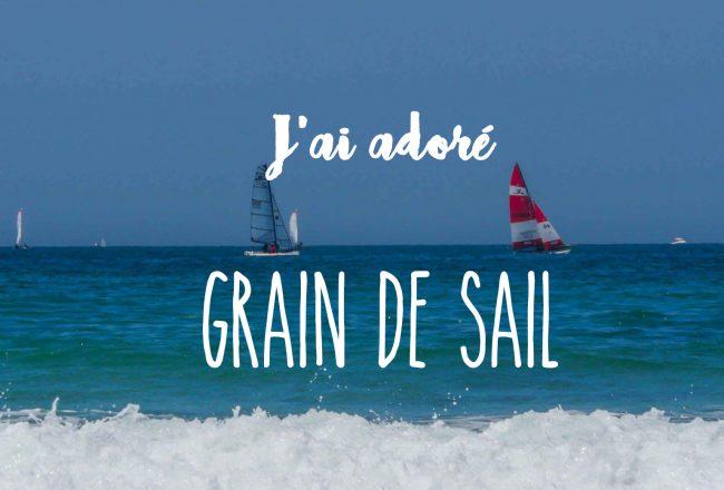 grain de sail - couverture