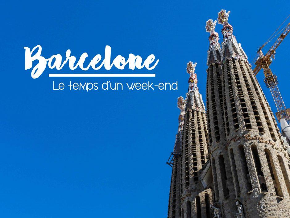 Barcelone - sagrada familia