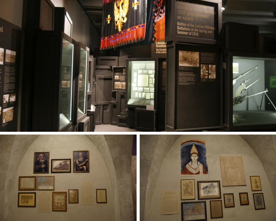 Riga - Musée de la guerre - Les Gourmondises