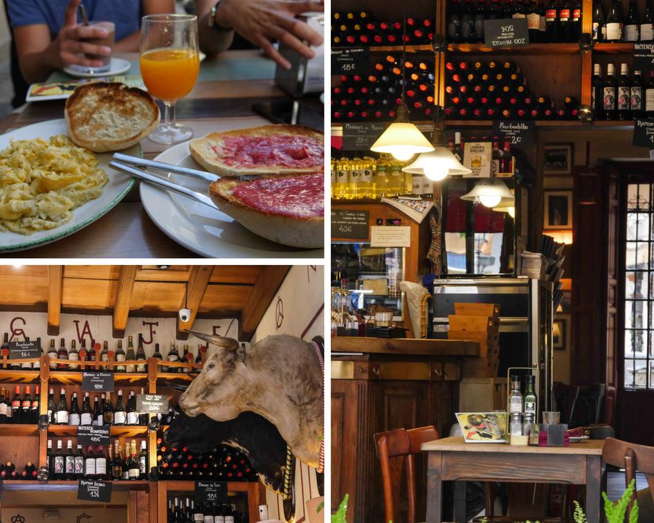 Les Gourmondises - Séville - Spain - Montage Almuerzo